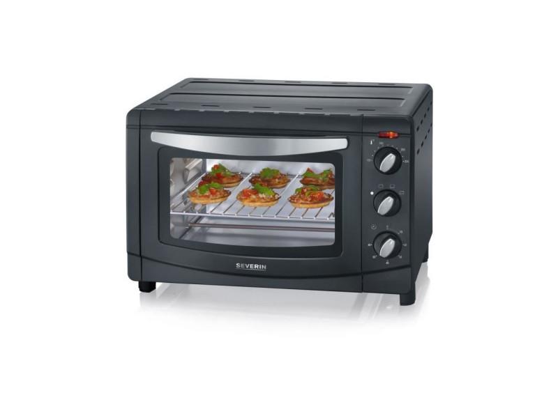 Mini-four 20l noir/inox + pierre à pizza - to9560 SEV4008146029622