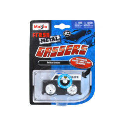 Voiture fresh metal gassers avec sons : police cruizer