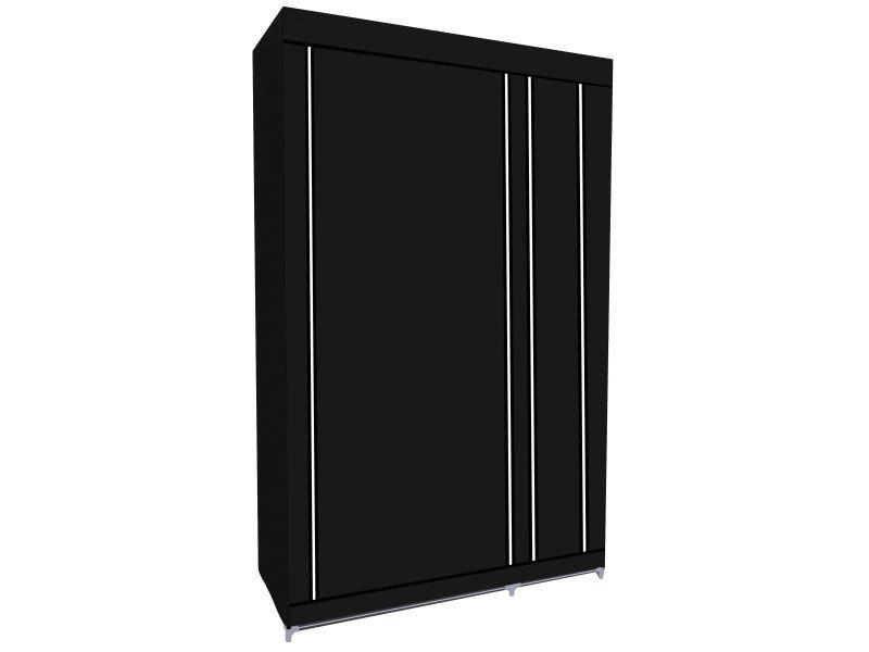 Herzberg hg-8010: armoire de rangement - petite noire