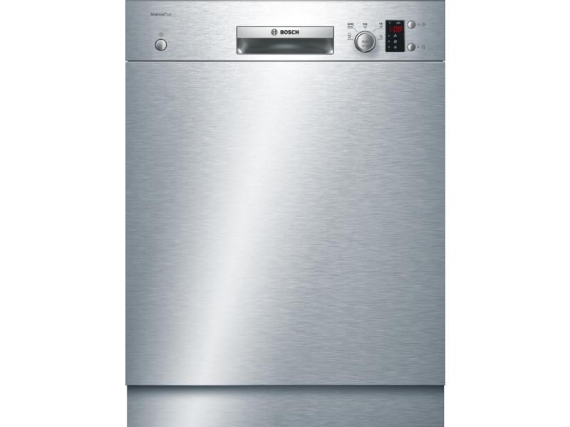 Lave-vaisselle 60cm 12c 48db a+ intégrable avec bandeau inox - smu25as00e smu25as00e