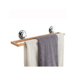 Porte-serviettes à ventouses