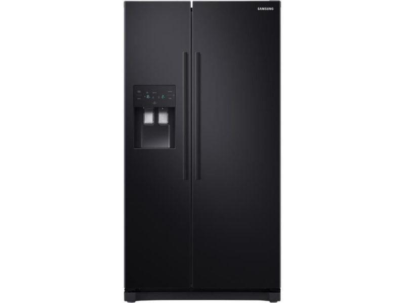 Réfrigérateur américain 501l froid ventilé samsung 91cm a+, samrs50n3503bc SAMRS50N3503BC