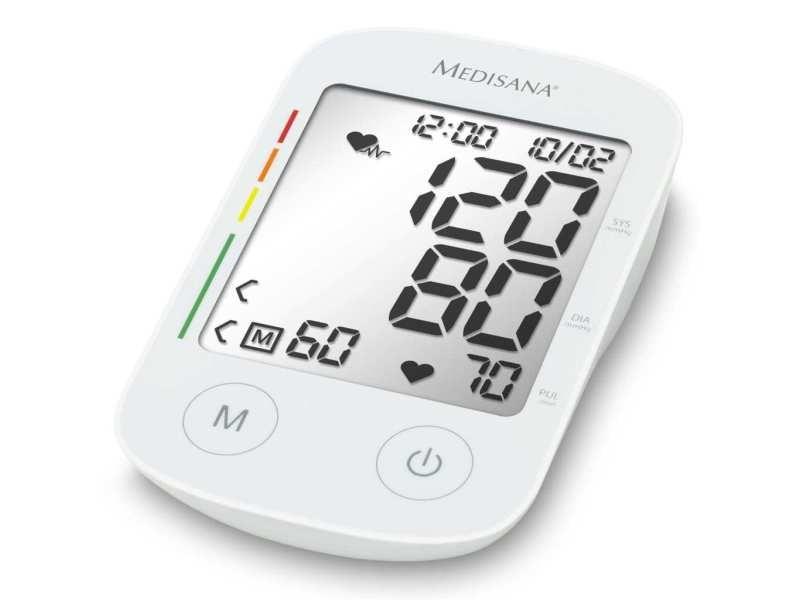 Inedit moniteurs biométriques categorie managua medisana tensiomètre à bras avec fonction vocale bu 535 voice blanc