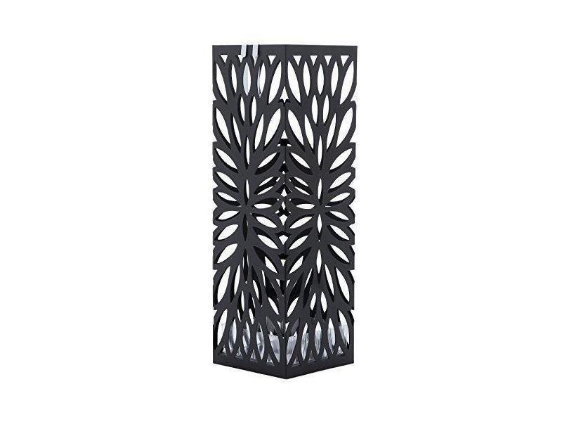 Porte parapluies design pratique moderne métal noir élégant helloshop26 3512026