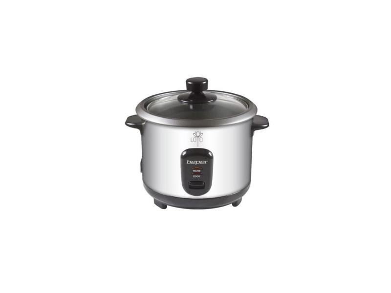 Beper 90550 cuiseur a riz et vapeur - inox BEP8051772716783