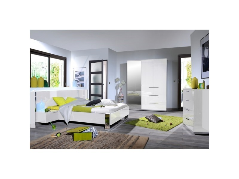 Chambre adulte compl te 140 190 sunny n 4 l 235 x l for Chambre complete adulte 140