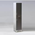 Meuble de rangement r. 2 portes + 1 tiroir / gris