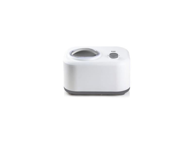 Domo do9243i - sorbetiere avec compresseur intégré - 1l - 3 fonctions - bol amovible - température de congélation -18° a -35°c DOM5411397145376