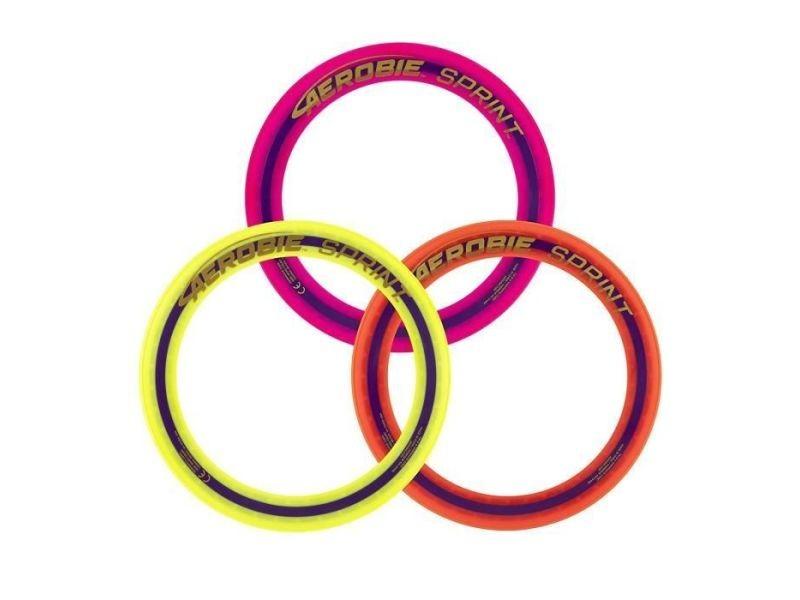 Frisbee sprint ring - anneau de lancer frisbee 25 cm - couleur aléatoire
