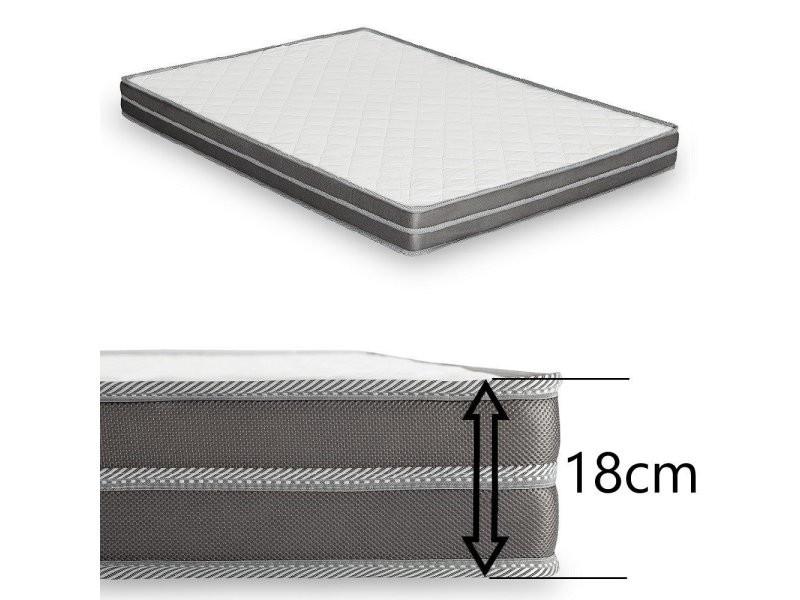 canap convertible ouverture rapido imola couchage 120 cm matelas 18cm tissu microfibre rouge. Black Bedroom Furniture Sets. Home Design Ideas