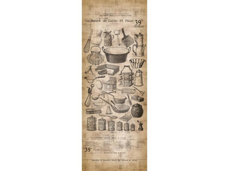 Papier Peint Lé Unique Ustensile De Cuisine Vintage Vente De