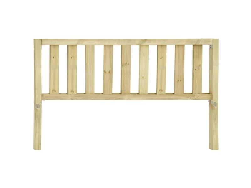 Icaverne - panneaux de clôture reference clôture de jardin bois de pin imprégné 7,1x1,1 m
