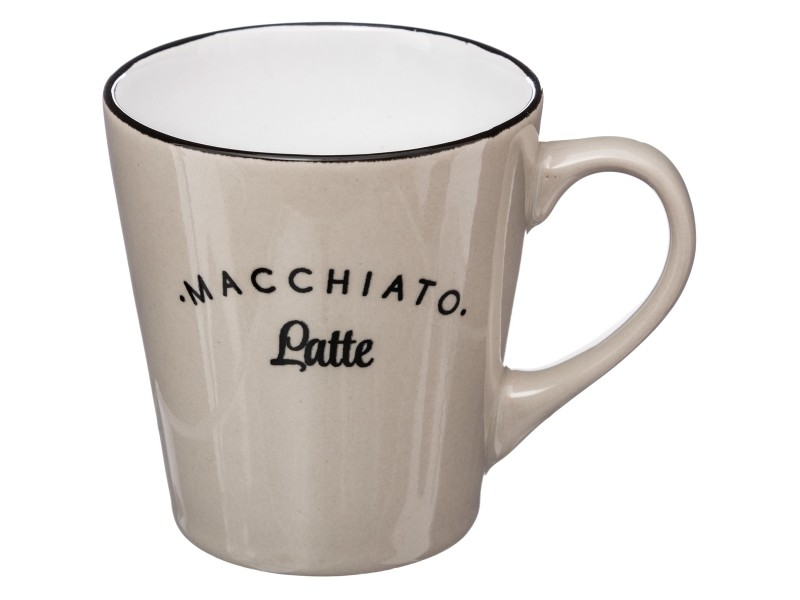 Lot Cappucino Café Macchiatto 6 Vente A Tasse Design Mug Ensemble wm80Nn