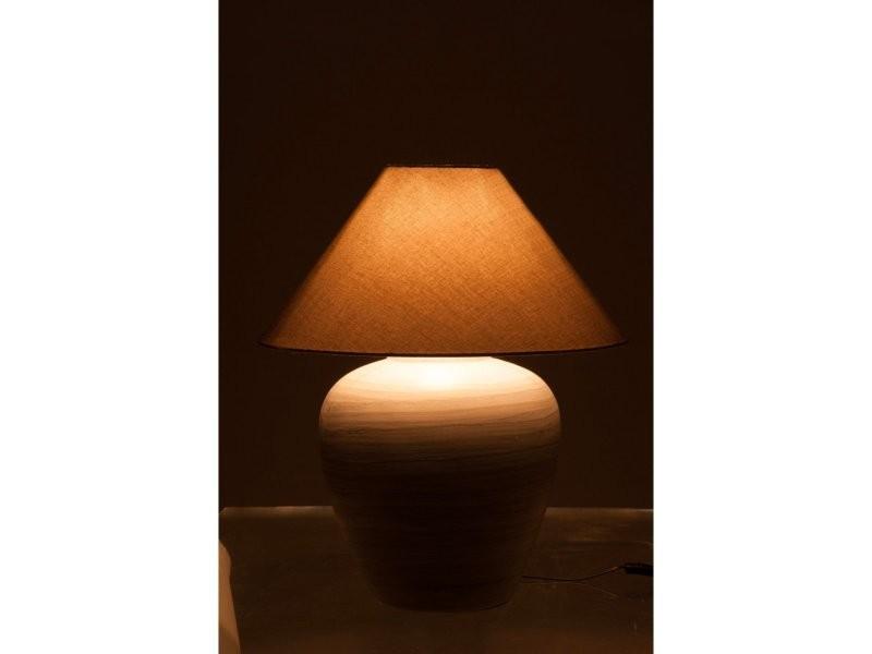 Axedale Lampe Chevet J De Boule Ceramique 62387 Vente Gris Line xeoBQrWdC