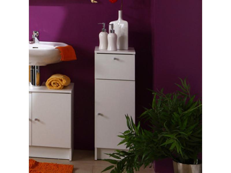el ment bas de salle de bain blanc h 84 x l 29 x p 32 cm pegane vente de meuble et. Black Bedroom Furniture Sets. Home Design Ideas