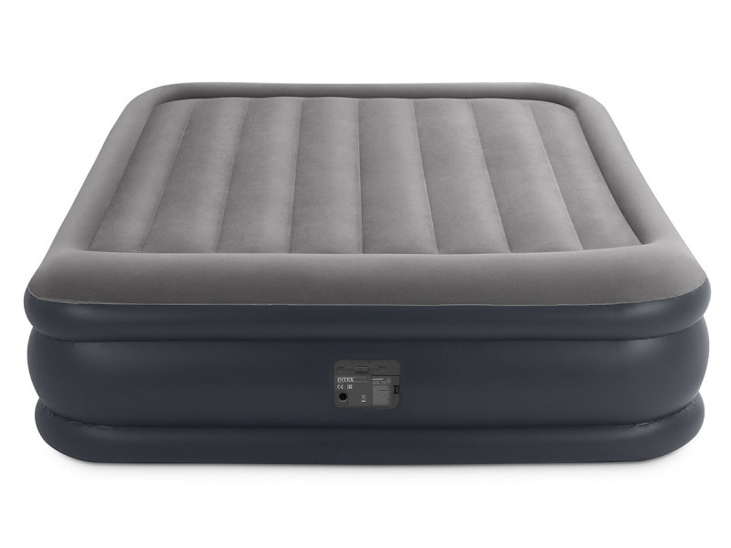 matelas electrique gonflable 2 places intex rest bed. Black Bedroom Furniture Sets. Home Design Ideas
