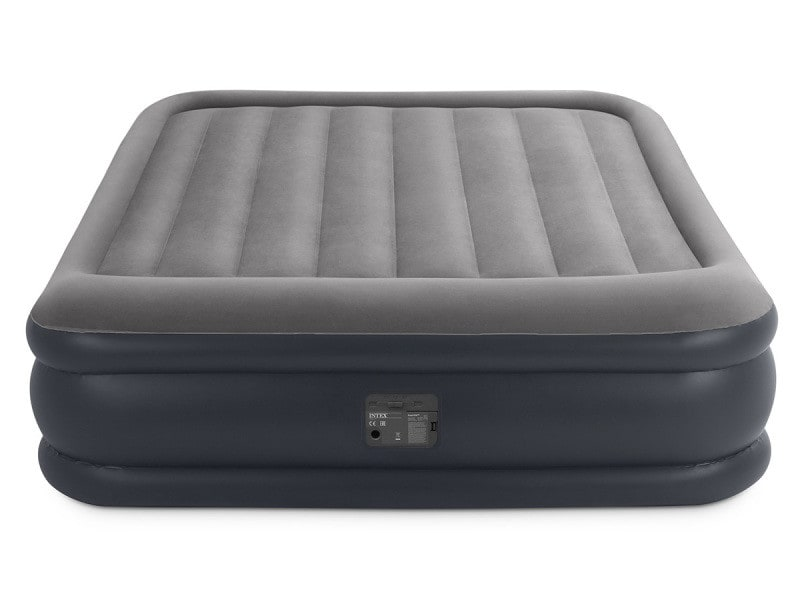 matelas electrique gonflable 2 places intex rest bed deluxe fiber tech vente de intex conforama. Black Bedroom Furniture Sets. Home Design Ideas