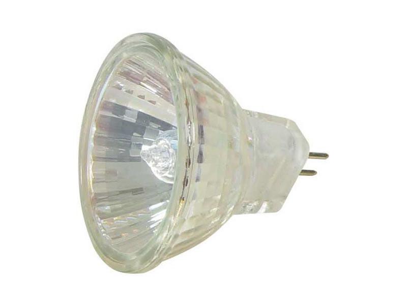 Lampe miroir type g4 d35 m/m 36° 12v 20w reference : gu4