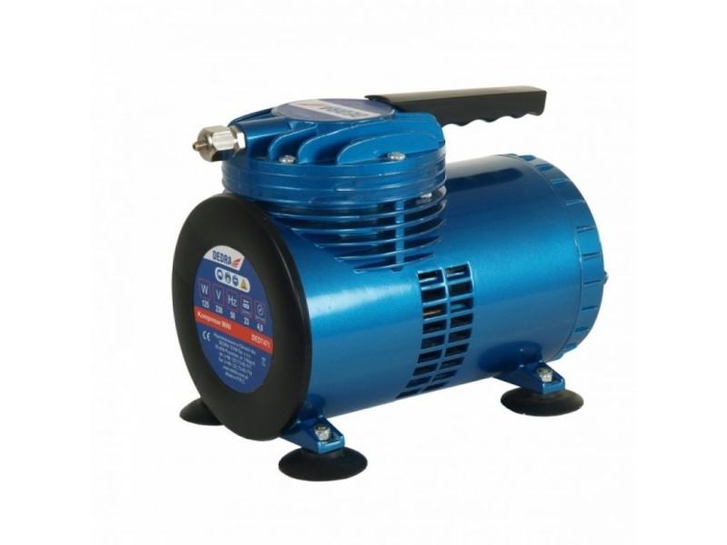 Dtools - compresseur mini - 125w - pression 4 bars - alimentation 230 v/50 hz - bleu