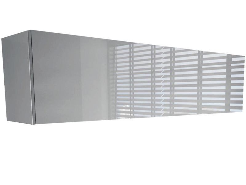 Colonne suspendue blanche mat façade laquée