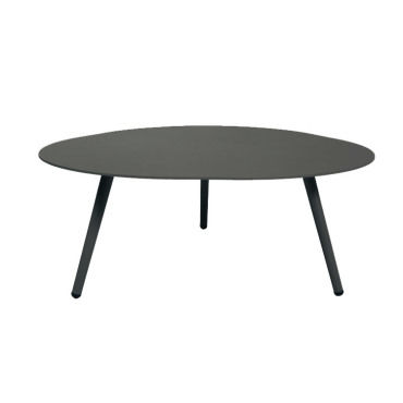 table basse en alu gris anthracite spezia vente de gecko jardin conforama. Black Bedroom Furniture Sets. Home Design Ideas