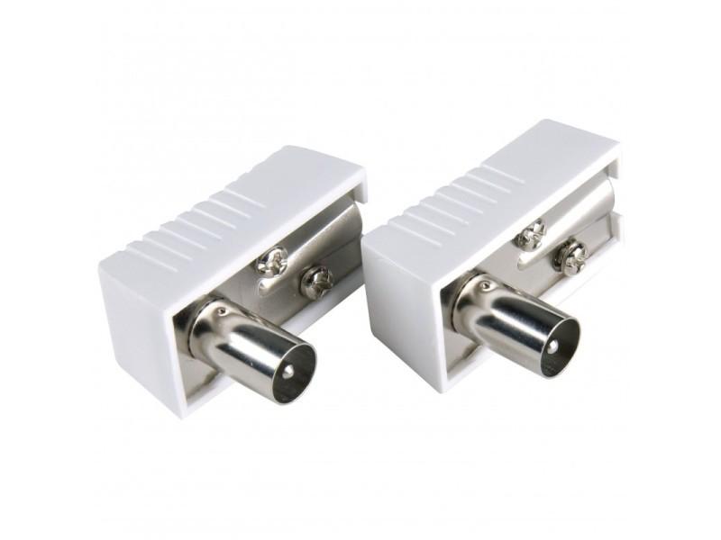 Kit connecteur mâle d'antenne iec