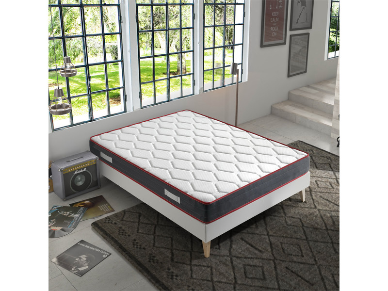 matelas m moire de forme ergo therapy 90x200 18cm paisseur marckonfort conforama. Black Bedroom Furniture Sets. Home Design Ideas