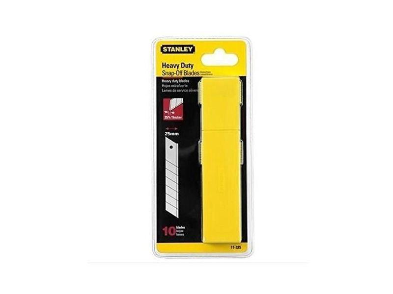 Cutter jeu 10 lames de cutters 25mm