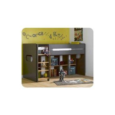 lit enfant mi hauteur spark 90x200 cm vente de ma chambre d 39 enfant conforama. Black Bedroom Furniture Sets. Home Design Ideas
