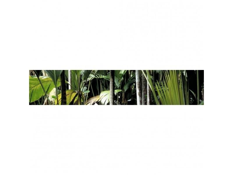 Brise vue 100% occultant jungle 500 x 100 cm - canisse brise vent pour clôture de jardin