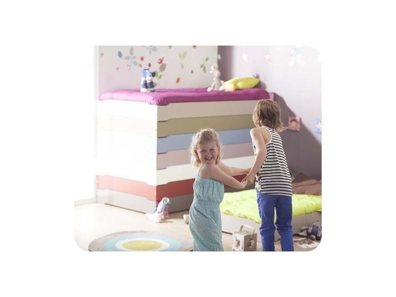 lit enfant empilable 90x190 cm avec sommier vente de ma. Black Bedroom Furniture Sets. Home Design Ideas