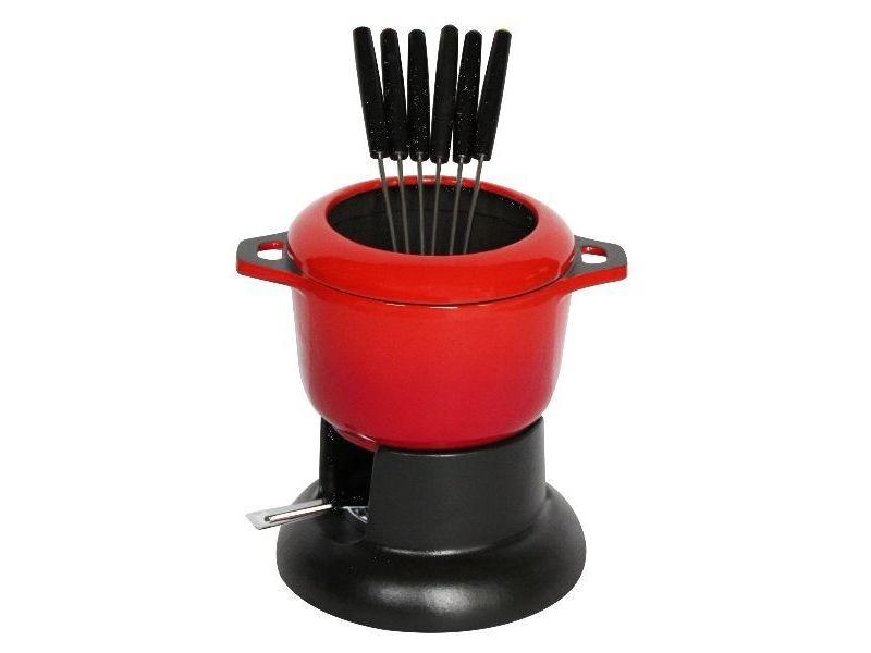 Service à fondue standart rouge rubis - 1003034 INV3244331003034