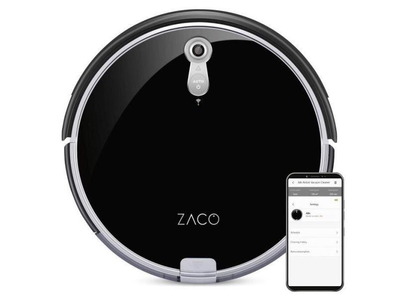Zaco 501900 robot aspirateur laveur a8s - autonomie 160min - reservoir 300ml - puissance 22w AUC4260522140905