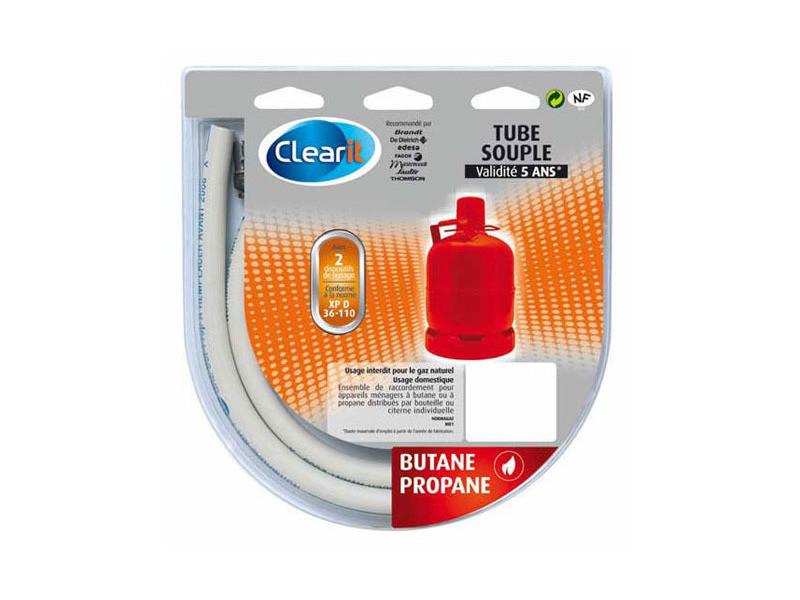 Tuyau de gaz butane standard 1m50 reference : 75s2696