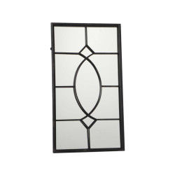 miroir mural noir conforama. Black Bedroom Furniture Sets. Home Design Ideas