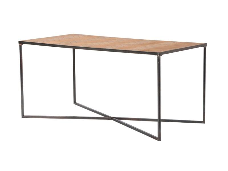 Table à manger parquet - bois clair