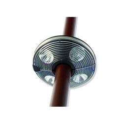Lampe pour parasol 4 x 4 led hespéride