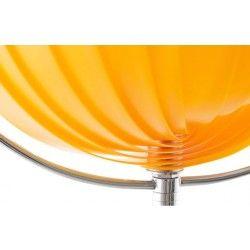 Lampadaire de table design orange