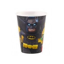 Gobelets en carton : lego batman tm x8