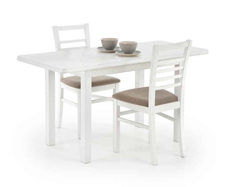 Table à manger extensible rectangulaire 120÷158 cm x 68 cm x 74 cm