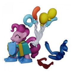 Figurine mon petit poney  : les amies c'est magique : pinkie pie