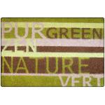 Tapis 40x60cm coco imprime nature