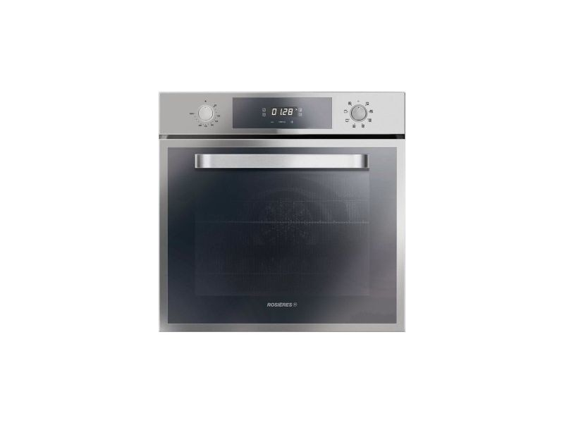 Rosieres rfn275in four electrique multifonction chaleur tournante - 65 l - catalyse - classe a - inox ROSRFN275IN