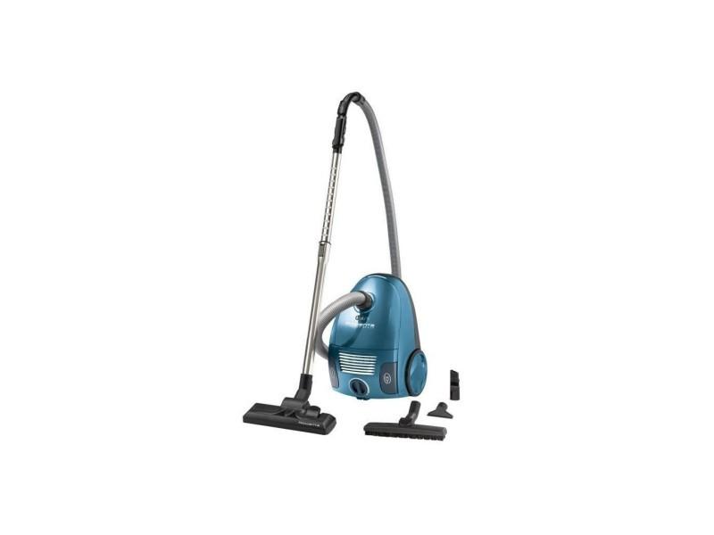 Rowenta ro2341ea aspirateur sac power space parquet - capacité 3l - bleu