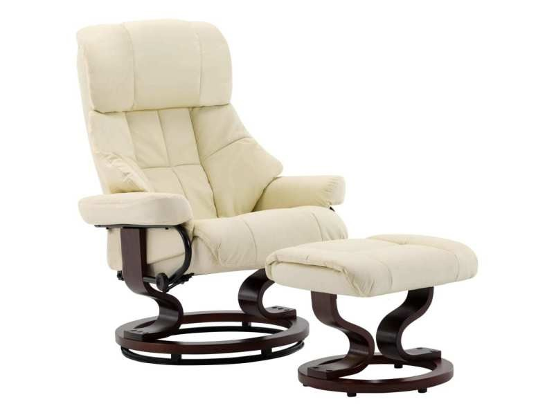 Icaverne fauteuils edition fauteuil inclinable repose pied