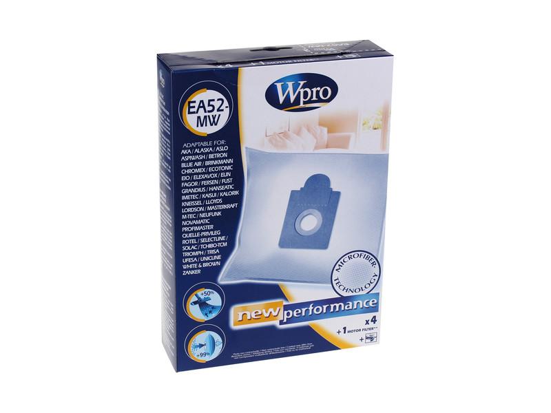 Wpro sac d'aspirateur en micro-fibres ea52-mw