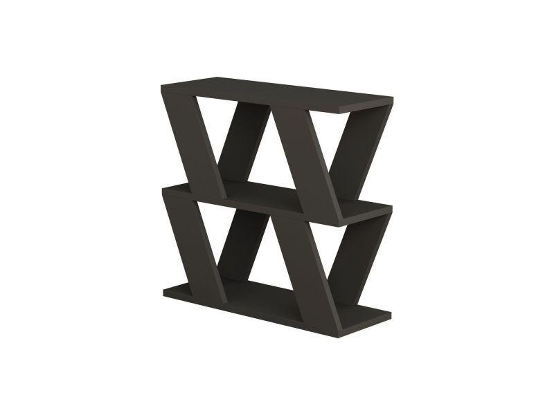 Table à café lazena 60 cm - gris anthracite