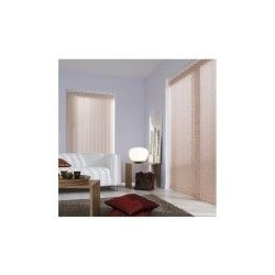 Lamelles verticales framboise tamisant - 089 mm x 180 cm-rose