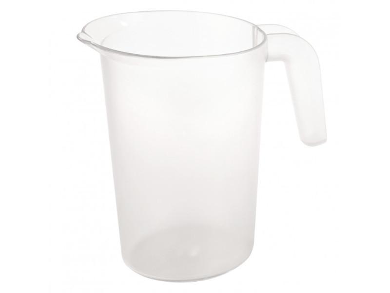 Pichet polycarbonate transparent empilable 2 l - pujadas - polycarbonate 200 cl