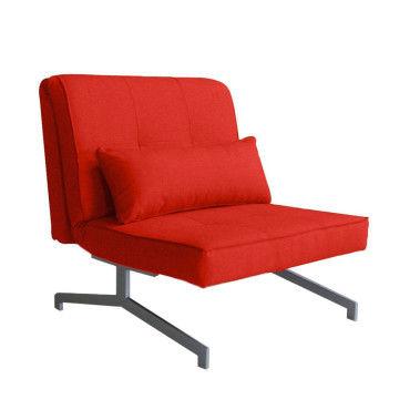 fauteuil convertible bz 1 place marco couleur rouge jk035 1 t17 rouge vente de tous les. Black Bedroom Furniture Sets. Home Design Ideas
